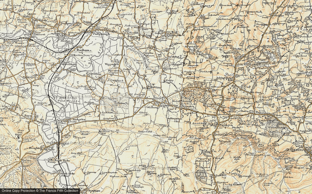 Old Map of Storrington, 1897-1900 in 1897-1900