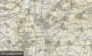 Map of Stratford, 1898-1901