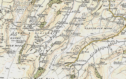Old map of Ajalon Ho in 1903-1904