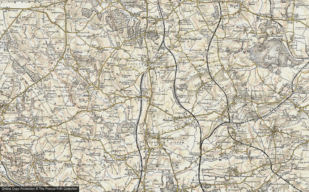 Old Map of Stretton, 1902-1903 in 1902-1903