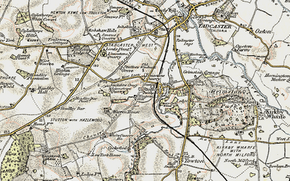Old map of Wingate Hill in 1903-1904
