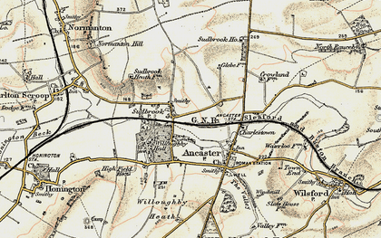 Old map of Sudbrook in 1902-1903