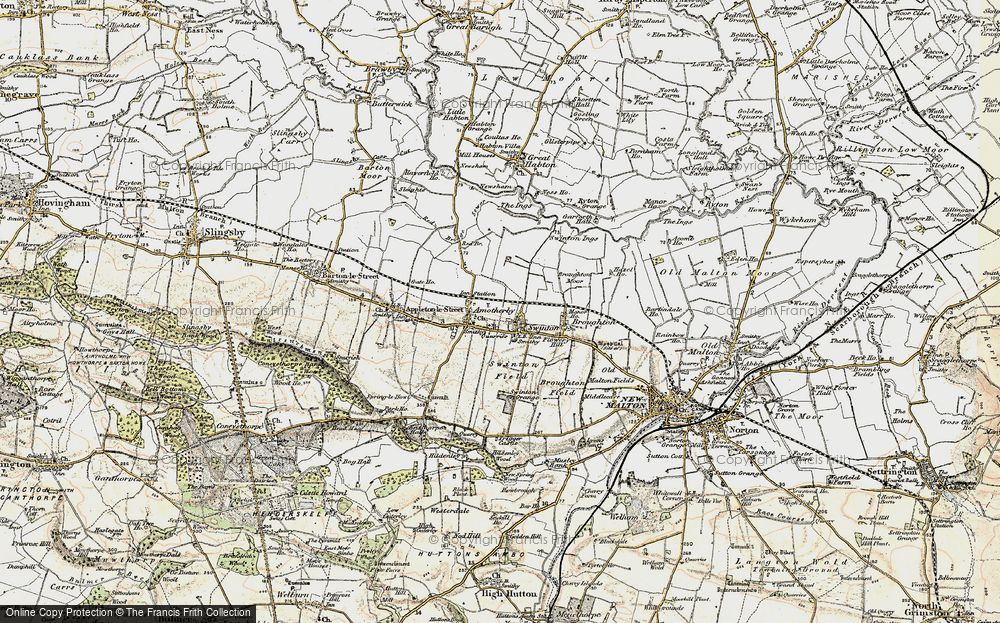 Old Map of Swinton, 1903-1904 in 1903-1904