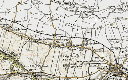 Old map of Swinton in 1903-1904
