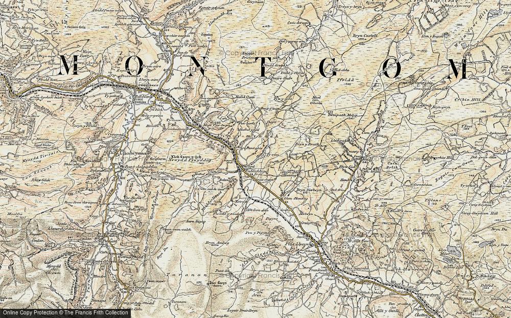 Talerddig, 1902-1903