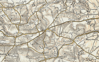 Old map of West Rose in 1901