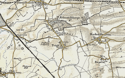 Old map of Woodwell Head in 1901-1903
