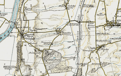Old map of Barkers Holt in 1903
