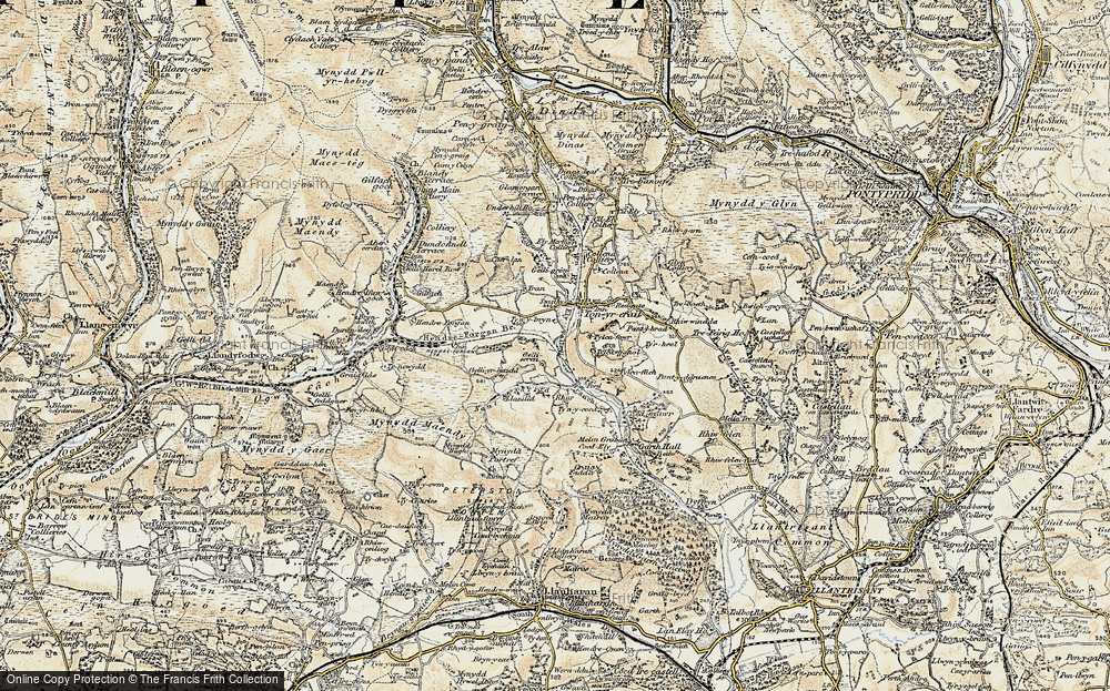 Old Map of Thomastown, 1899-1900 in 1899-1900
