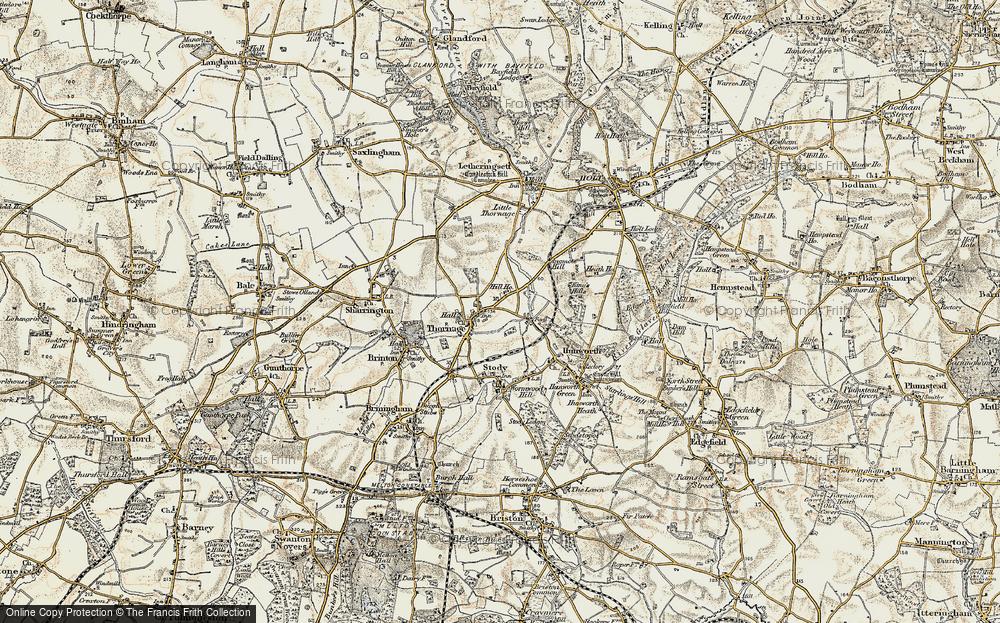 Thornage, 1901-1902
