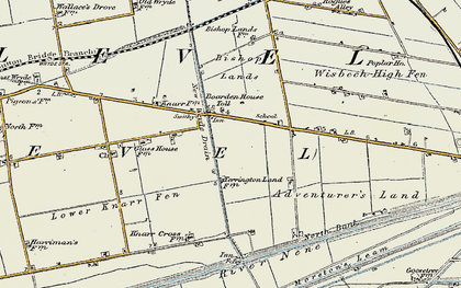 Old map of Adventurers' Land in 1901-1902
