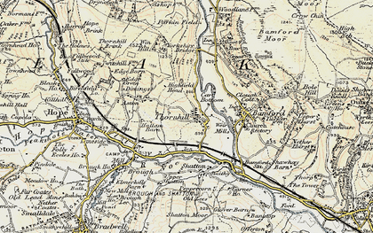 Old map of Yorkshire Br in 1902-1903
