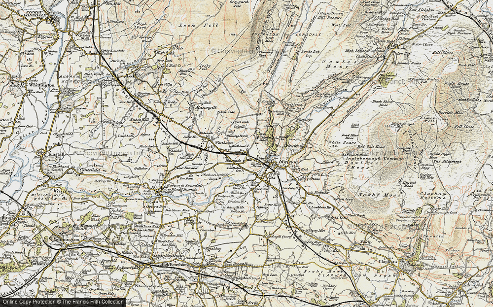 Old Map of Thornton in Lonsdale, 1903-1904 in 1903-1904