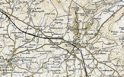 Old map of Wilson Wood in 1903-1904