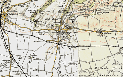 Old map of Willow Grange in 1903-1904
