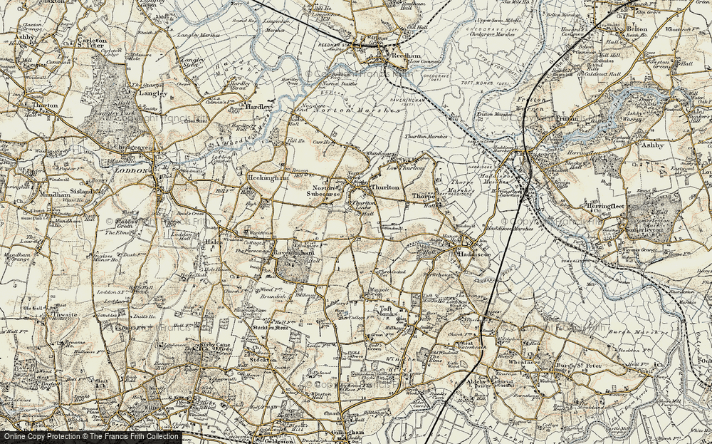 Thurlton Links, 1901-1902
