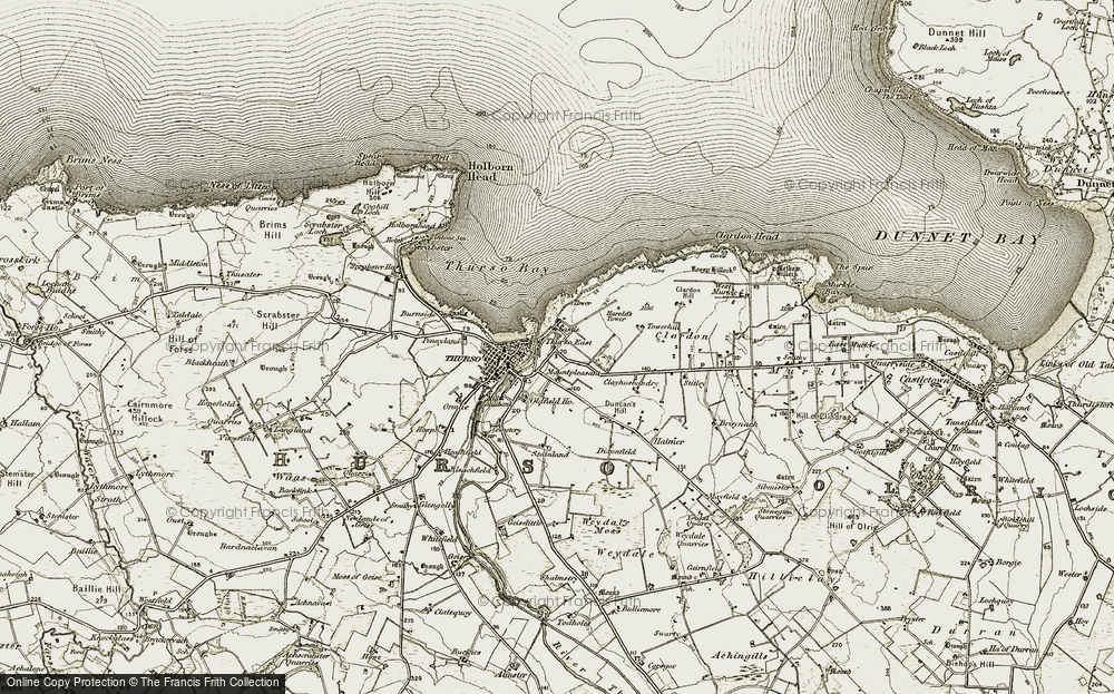 Thurso East, 1912