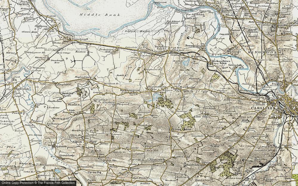 Thurstonfield, 1901-1904
