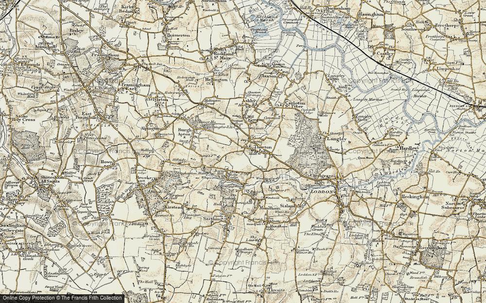 Thurton, 1901-1902