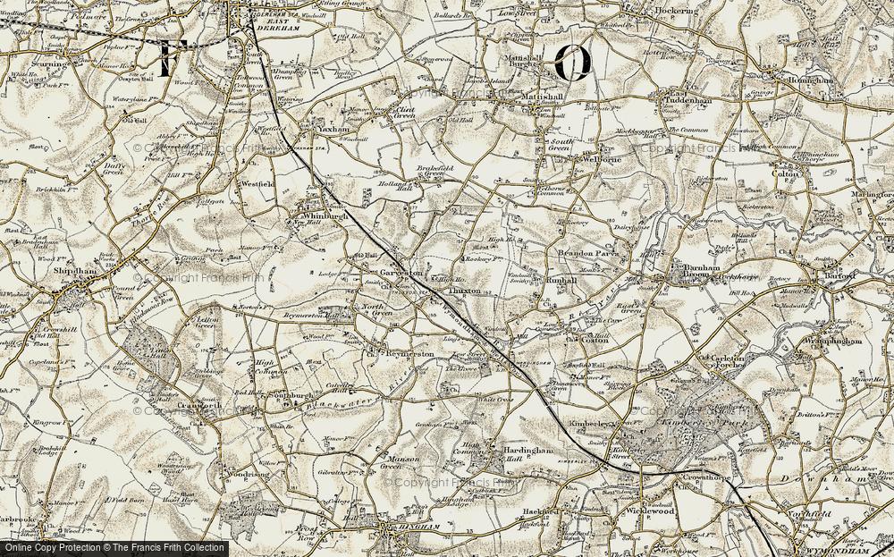 Thuxton, 1901-1902