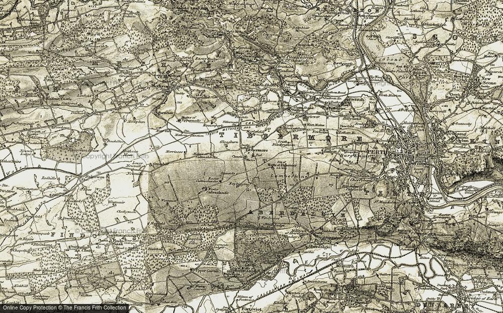 Tibbermore, 1906-1908