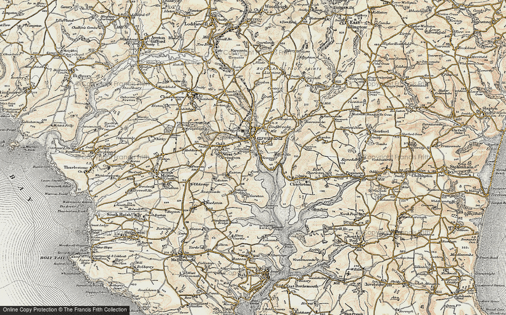 Old Map of Ticket Wood, 1899 in 1899