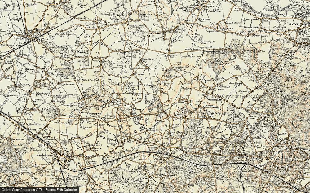 Tickleback Row, 1897-1909
