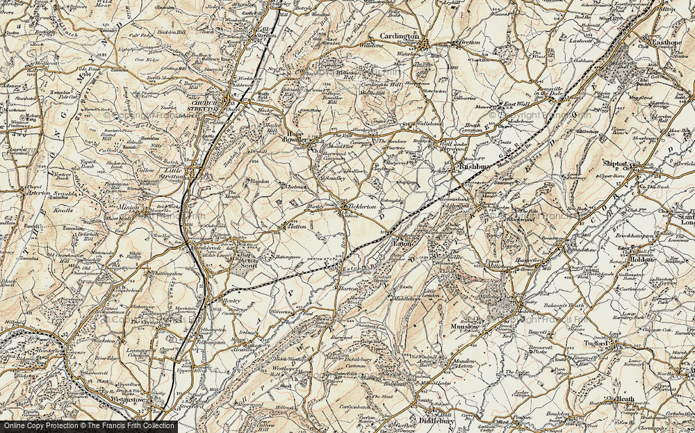 Ticklerton, 1902-1903
