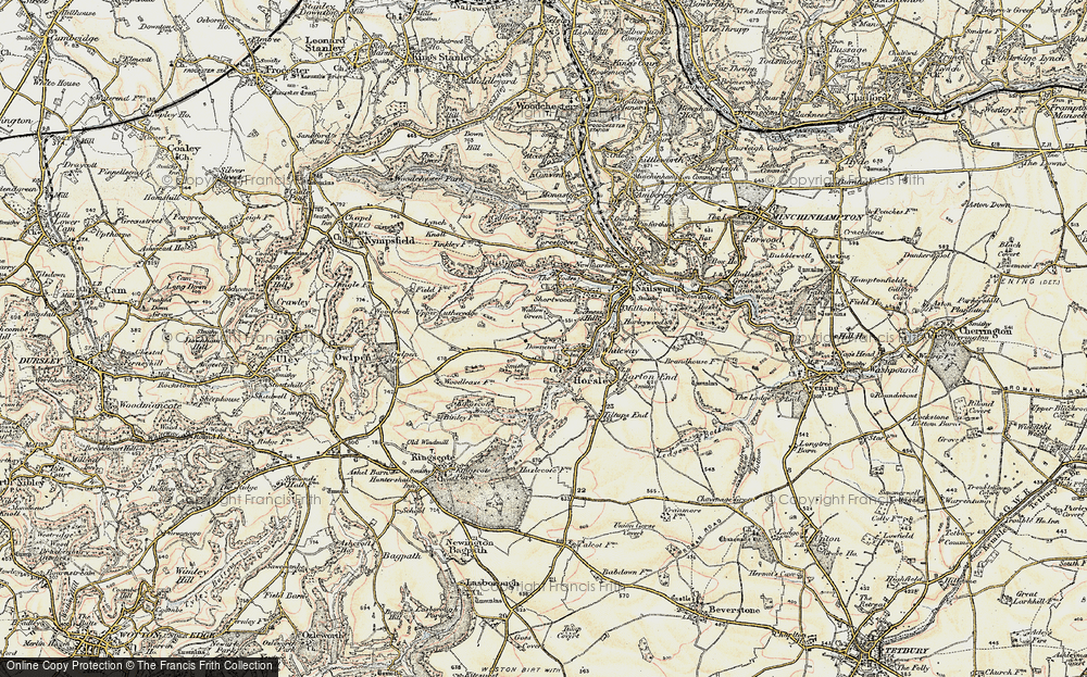 Old Map of Tickmorend, 1898-1900 in 1898-1900