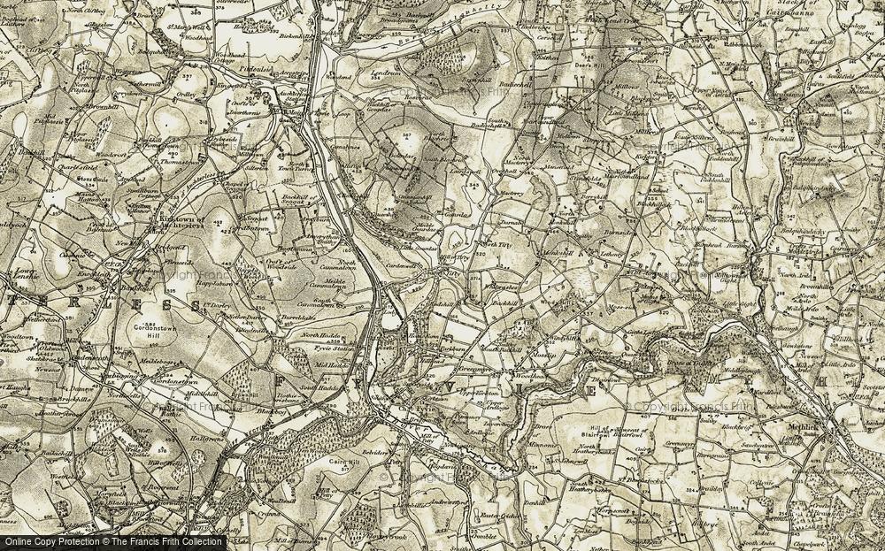 Tifty, 1909-1910
