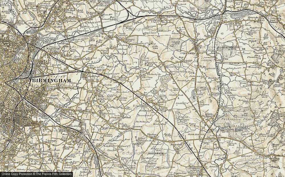 Tile Cross, 1901-1902