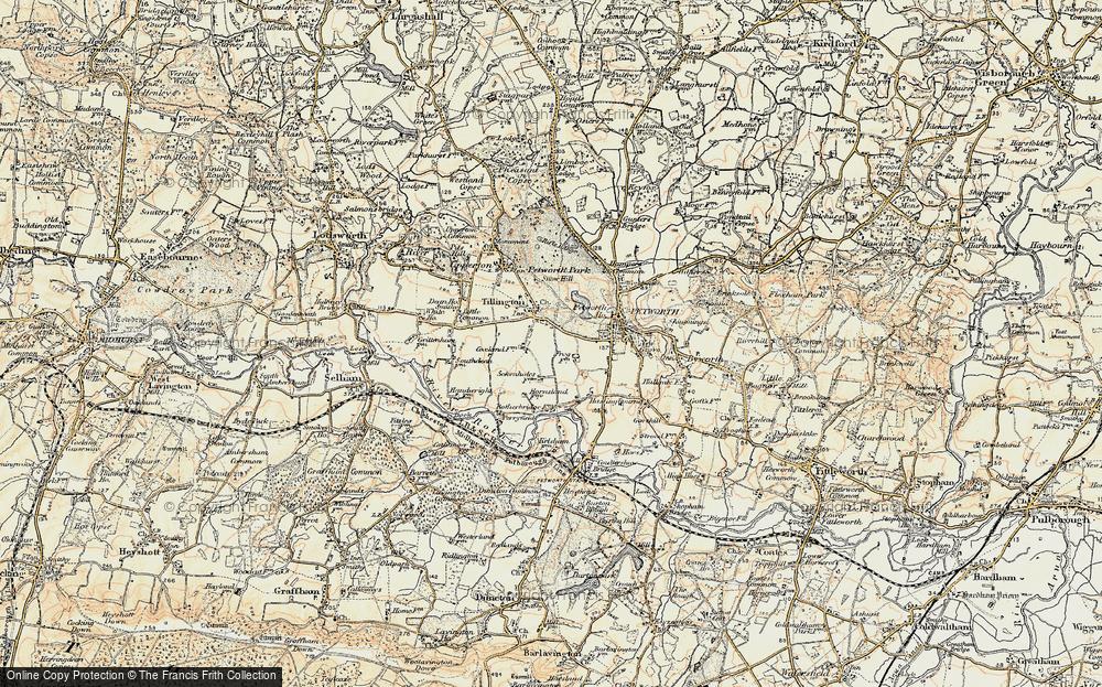 Tillington, 1897-1900