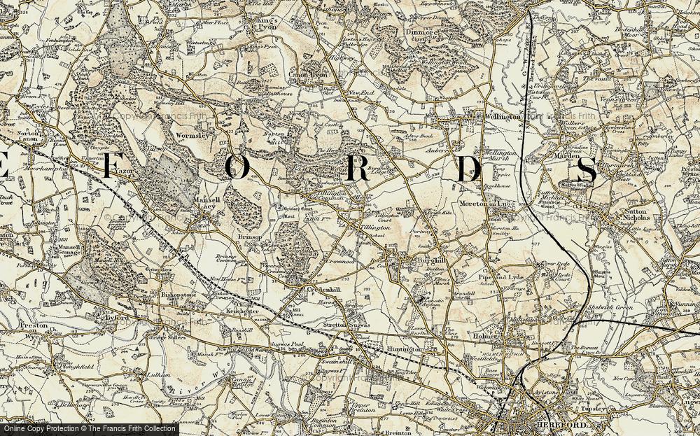 Tillington, 1900-1901