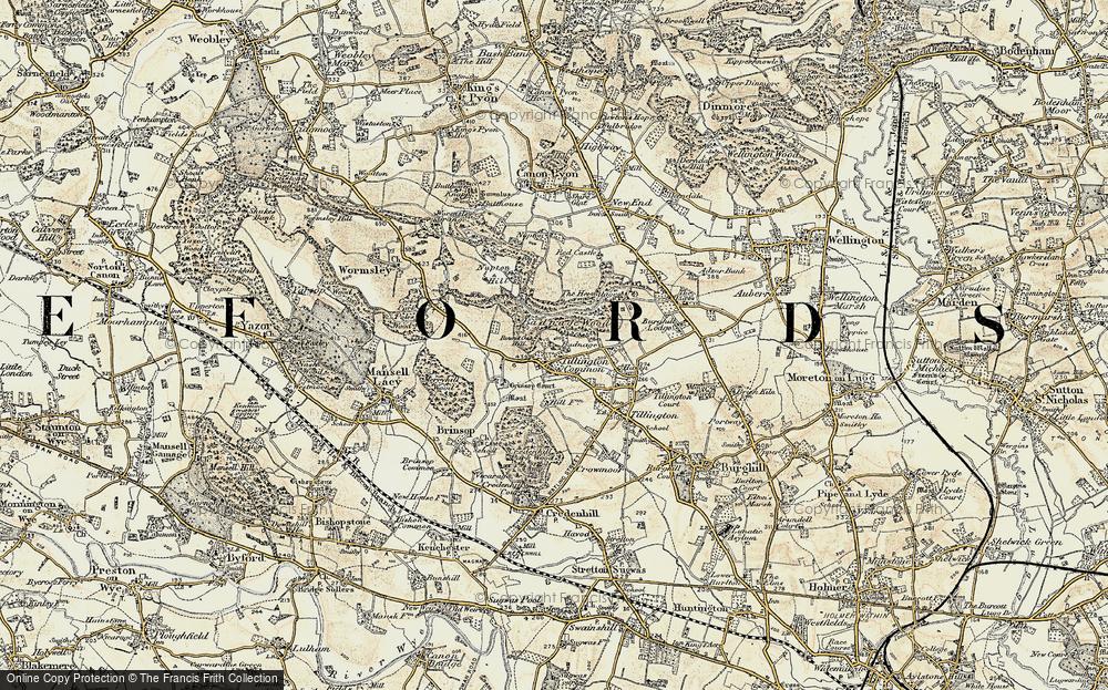 Tillington Common, 1900-1901