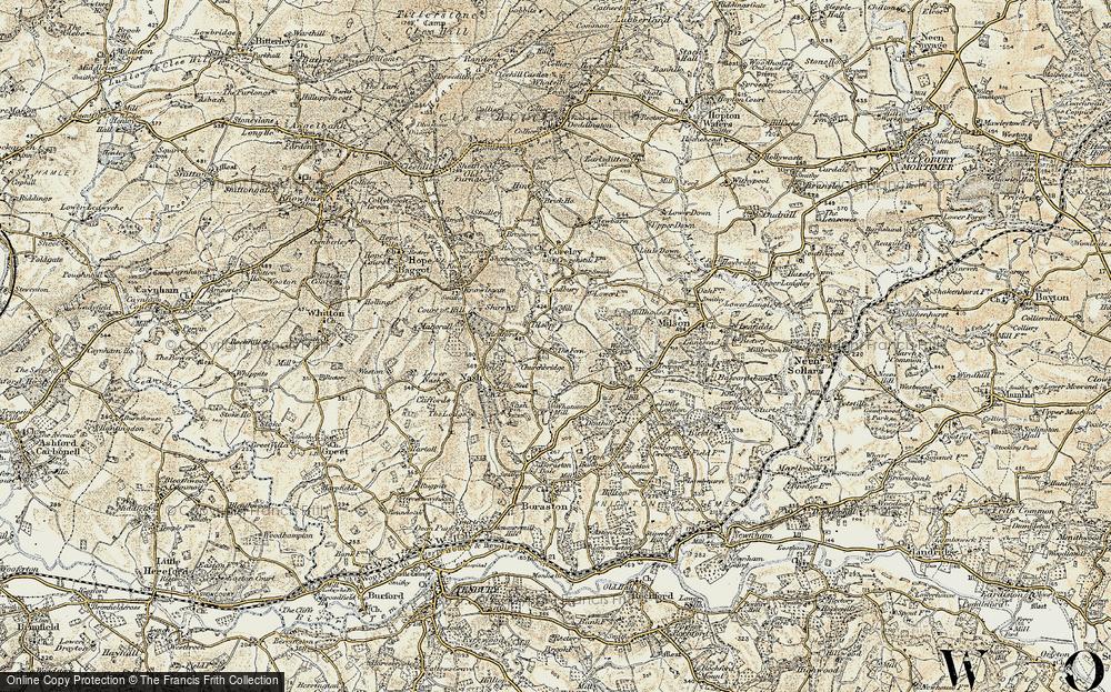 Tilsop, 1901-1902