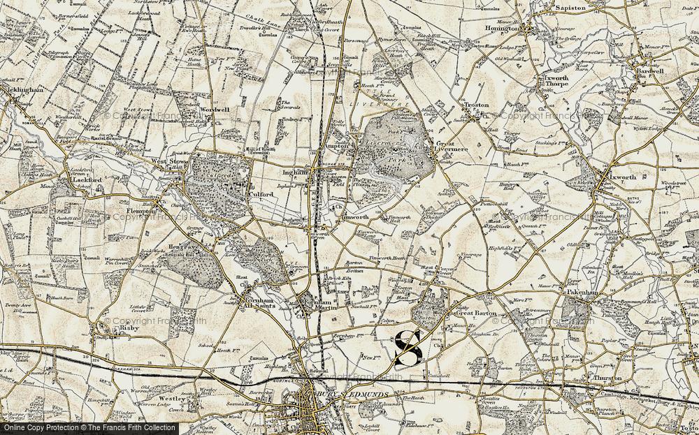 Timworth, 1901