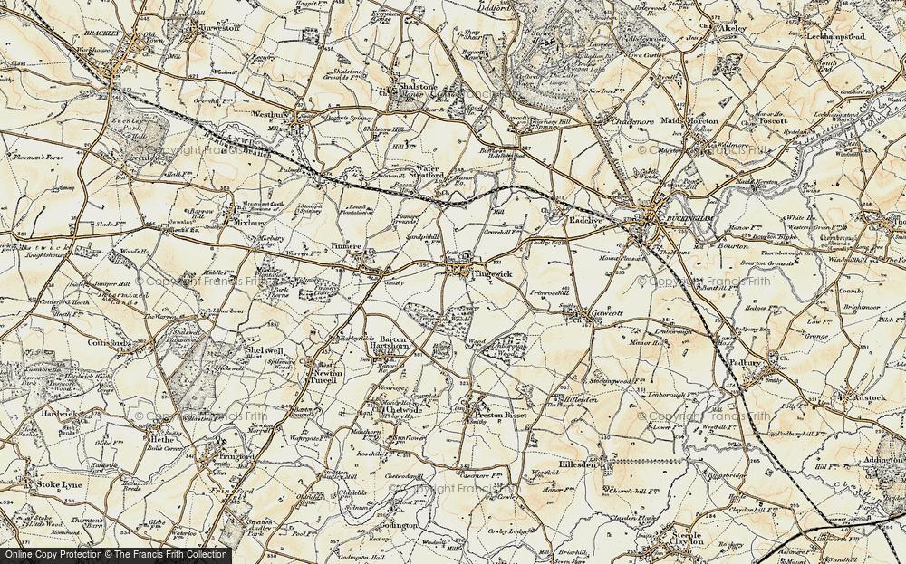 Tingewick, 1898-1899