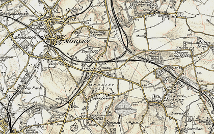 Old map of Tingley in 1903