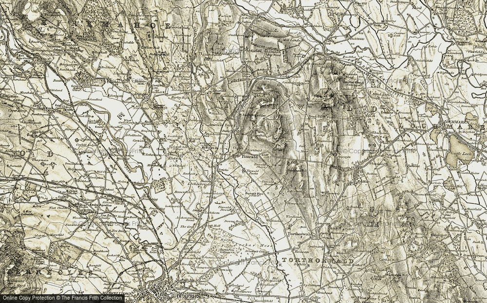 Old Map of Tinwald, 1901-1905 in 1901-1905