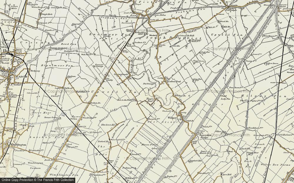 Tipps End, 1901-1902
