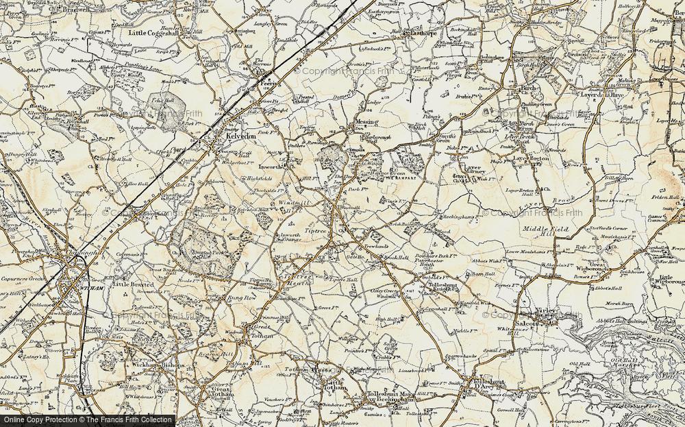 Tiptree, 1898-1899