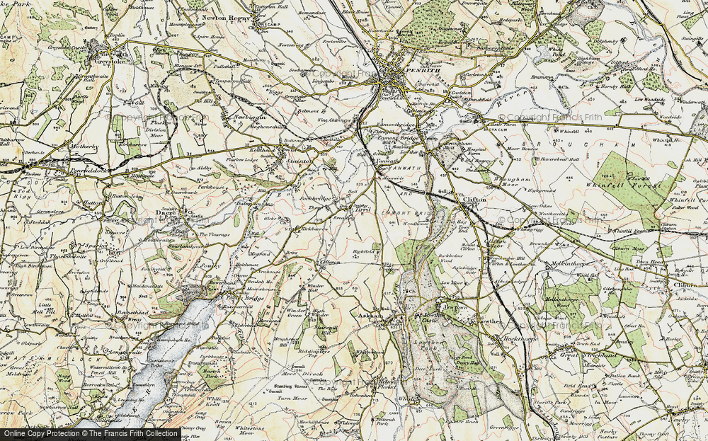 Old Map of Tirril, 1901-1904 in 1901-1904