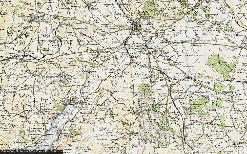 Tirril, 1901-1904