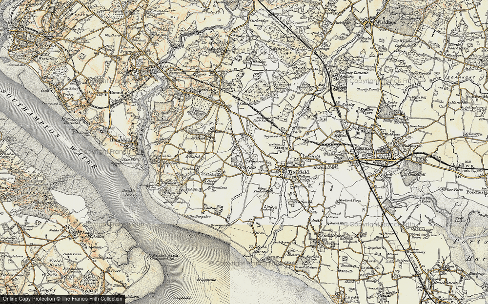 Titchfield Common, 1897-1899