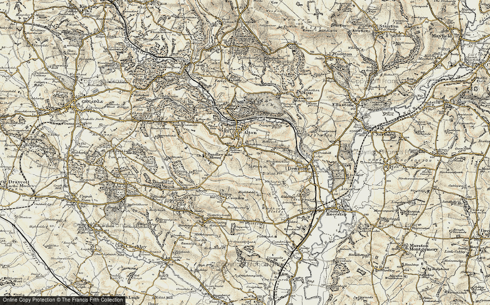 Old Map of Tithebarn, 1902 in 1902