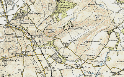 Old map of Titlington in 1901-1903