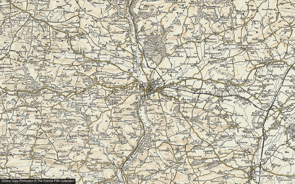 Tiverton, 1898-1900