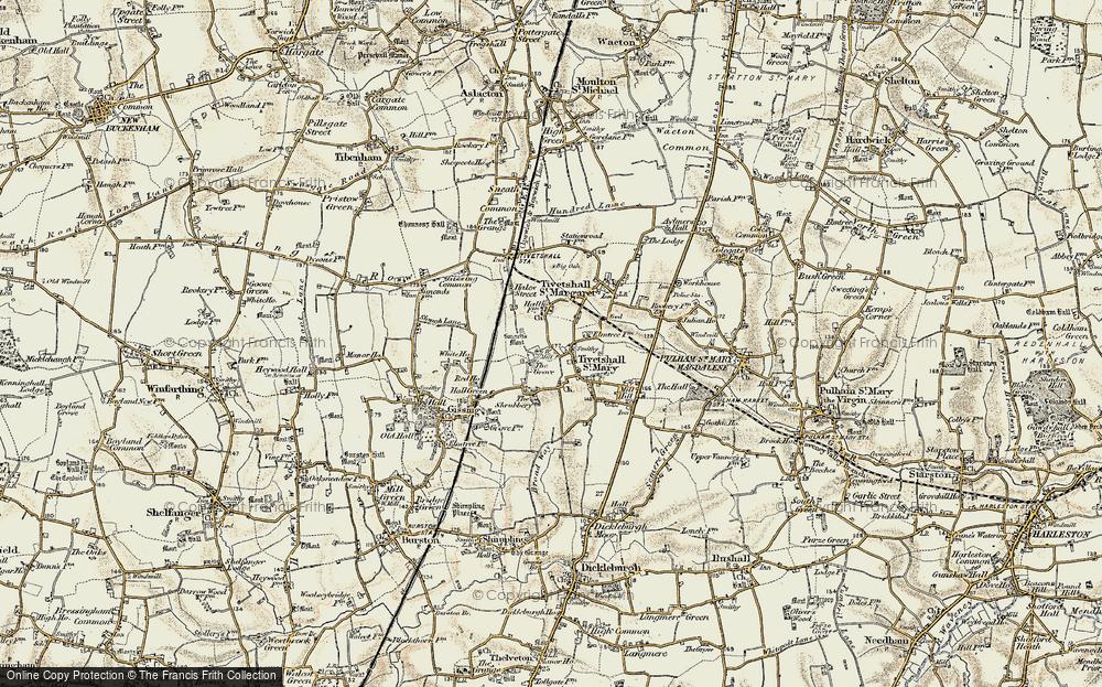 Tivetshall St Mary, 1901-1902