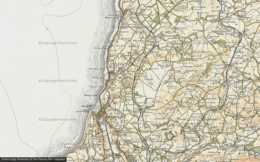 Old Map of Tivoli, 1901-1904 in 1901-1904