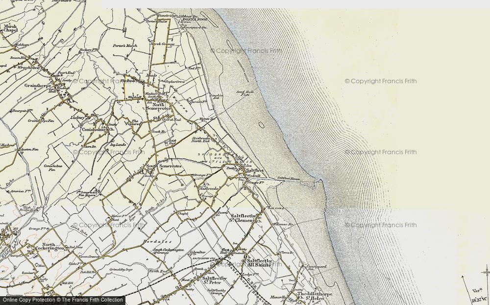 Old Map of Toby's Hill, 1903-1908 in 1903-1908
